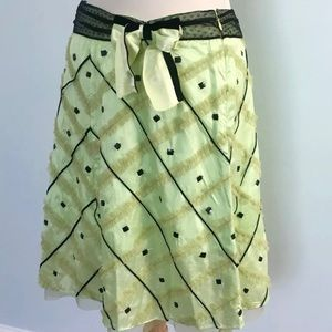 French Connection a-line skirt NWT
